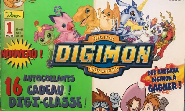 Magazine Digimon – Numéro 01