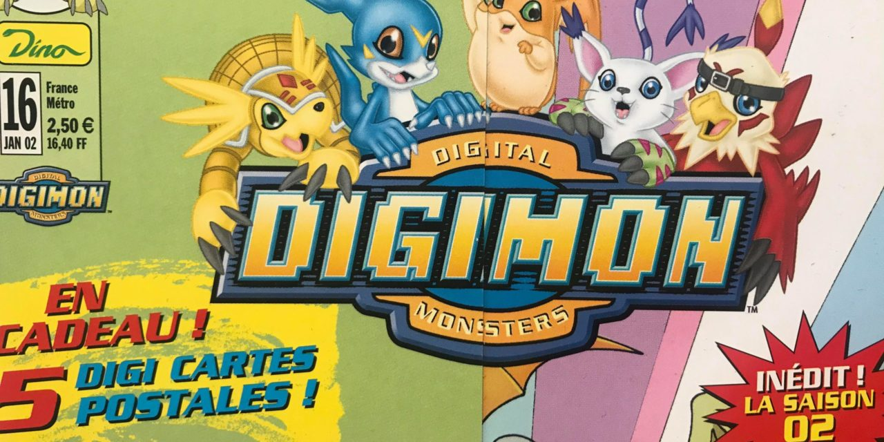 Magazine Digimon – Numéro 16