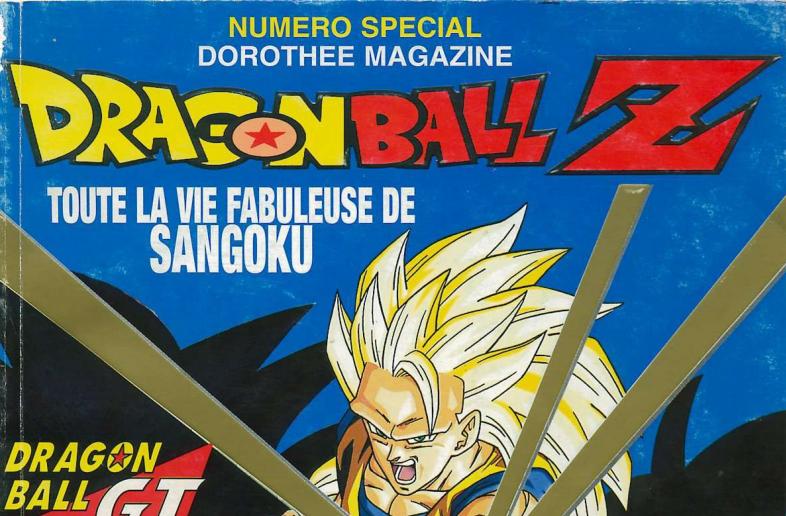 Dorothée Magazine – Le livre d'or Dragon Ball