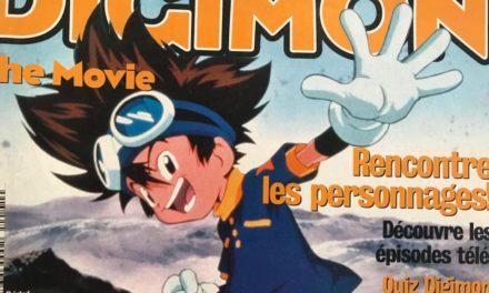Pojo's – Numéro 03 – Digimon