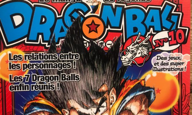DRAGON BALL – LE MANGA DE LÉGENDE – NUMÉRO 10
