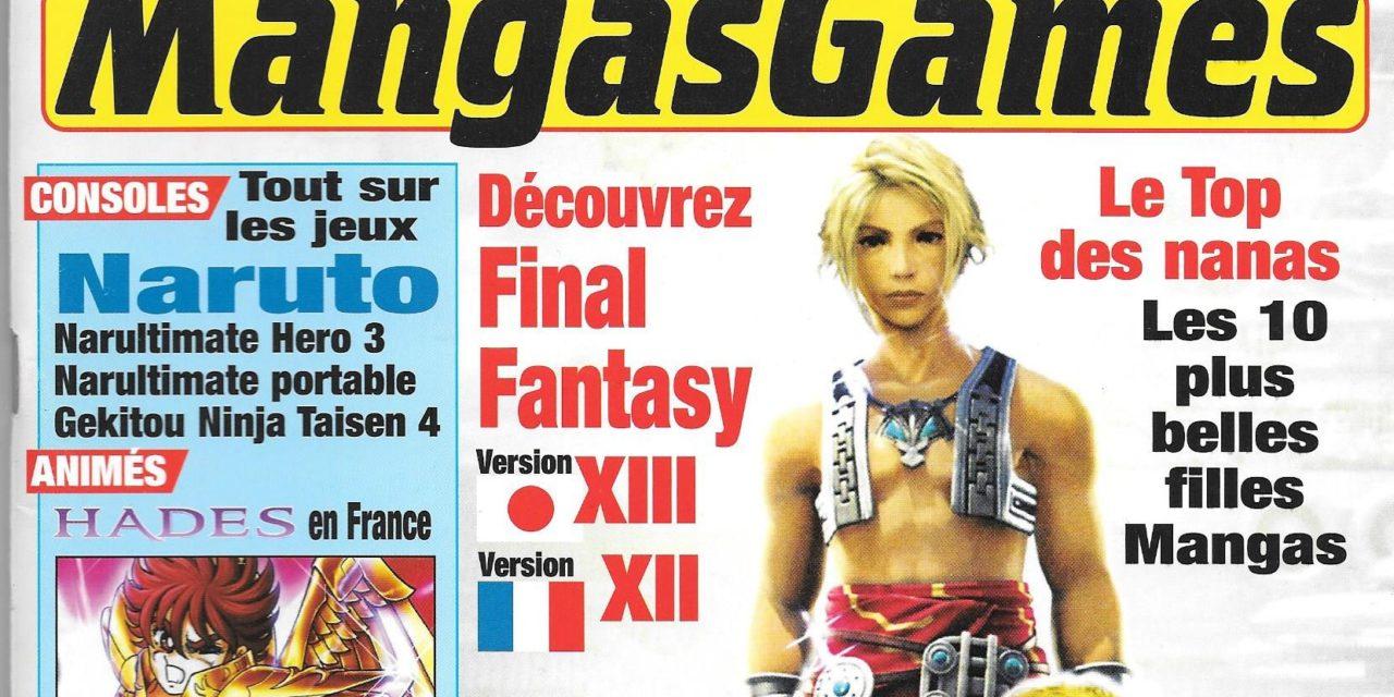 Manga Games – Numéro 01